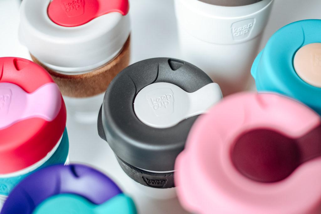 opakovane použiteľné poháriky na kávu